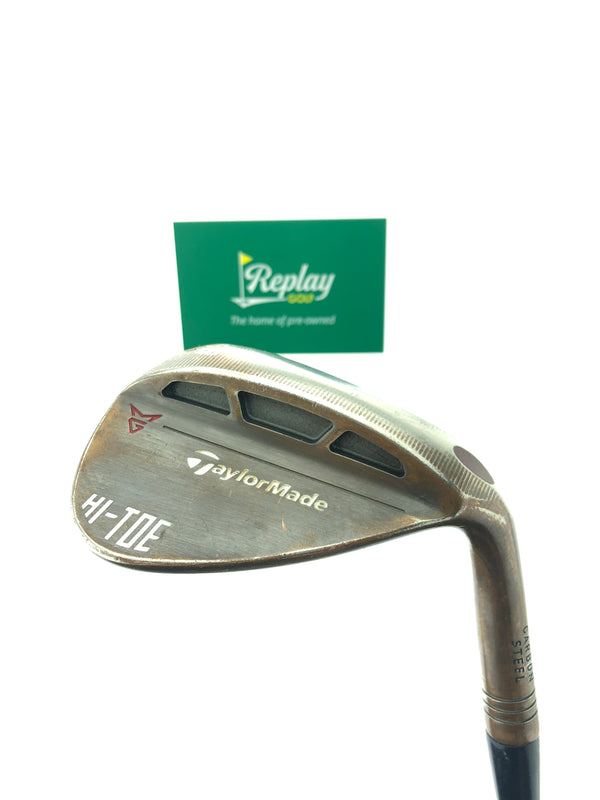 TaylorMade Milled Grind HI-TOE Lob Wedge / 58 Degree / KBS Tour 130 X-Flex - Replay Golf