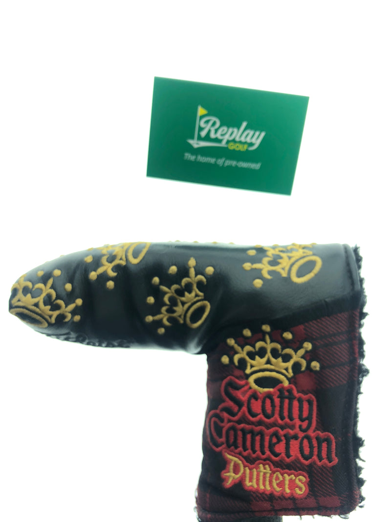 Scotty Cameron 2018 British Open Crown 3rd Major Putter Head Cover - Replay Golf