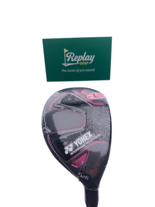 NEW Yonex Ezone Elite 2 5 Hybrid / 26 Degrees / Ladies Flex - Replay Golf
