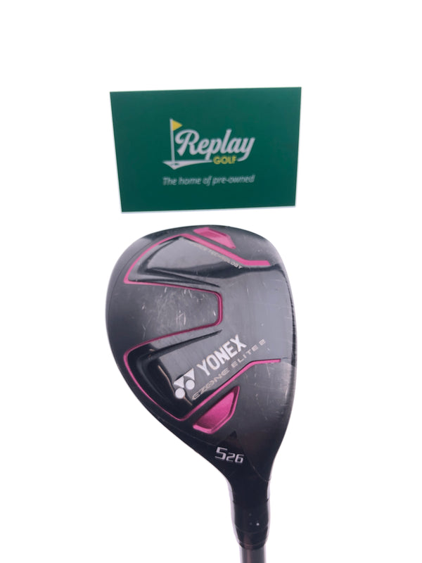 Yonex Ezone Elite 2 5 Hybrid / 26 Degrees / Yonex L50 Ladies Flex - Replay Golf