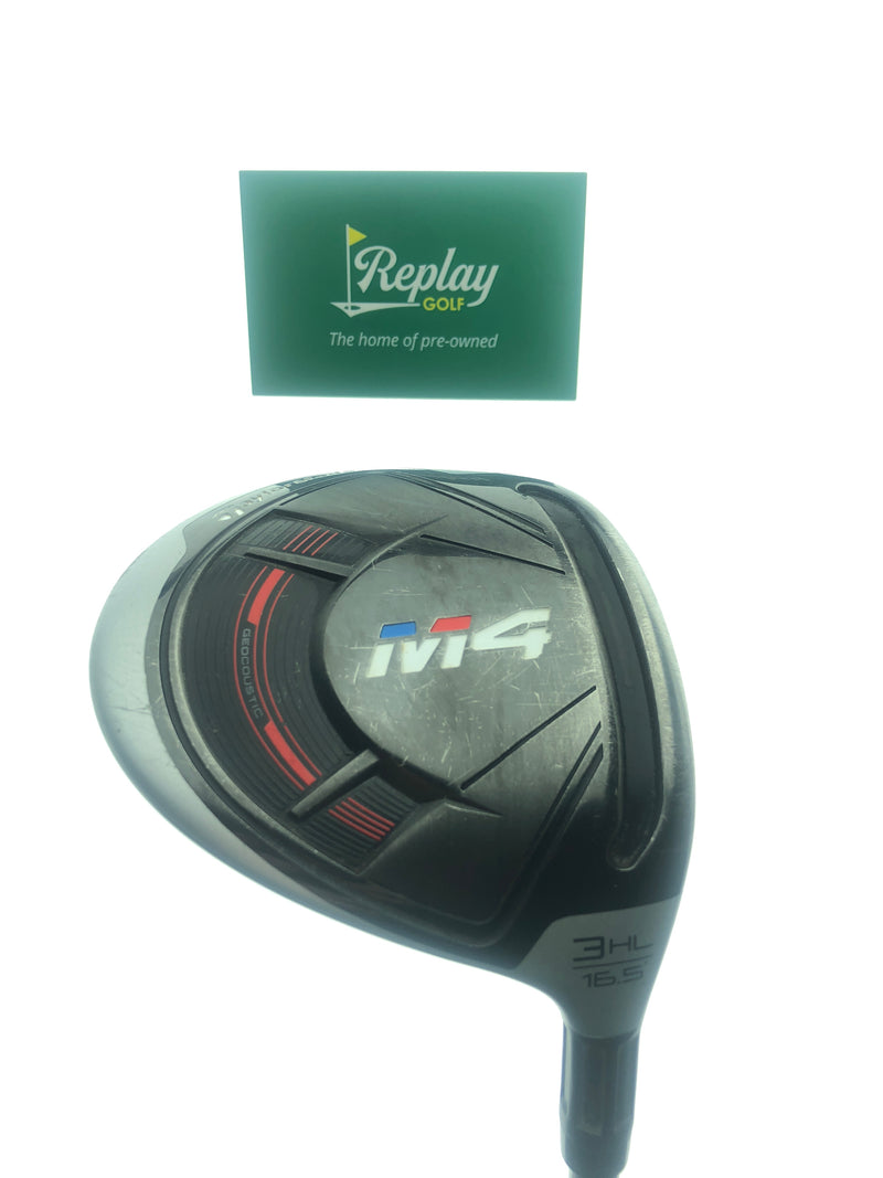 TaylorMade M4 3  HL Fairway Wood / 16.5 Degrees / Ladies 45 Flex - Replay Golf