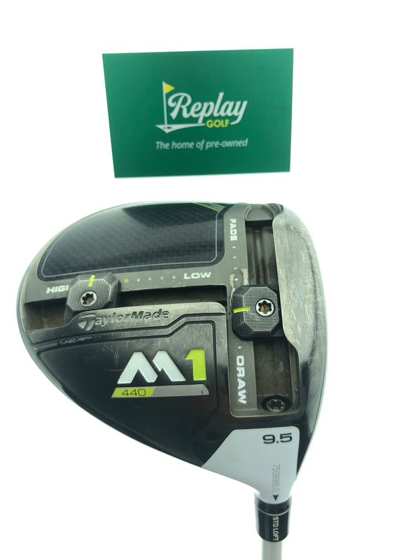 TaylorMade M1 2017 440 Driver / 9.5 Degrees / Aldila Rogue 110 MSI X-Flex - Replay Golf