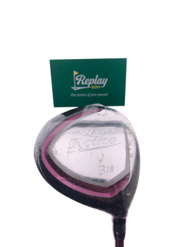 Yonex Reine 3 Fairway Wood / 18 Degrees / Ladies Flex - Replay Golf