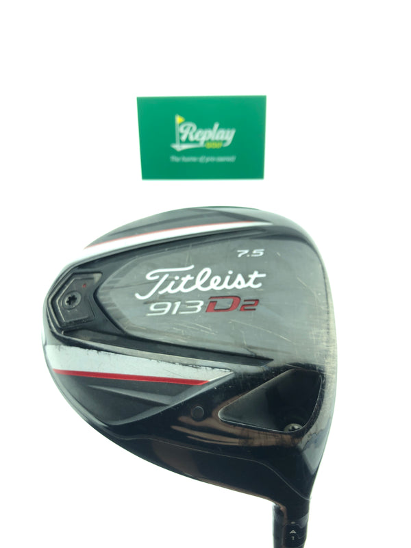 Titleist 913 D2 Driver / 7.5 Degrees / Fujikura Pro 63 Regular Flex