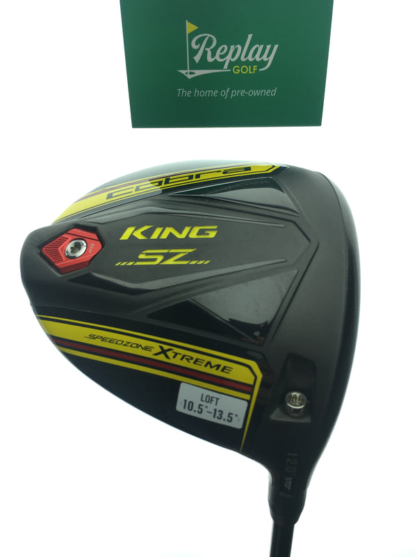 Cobra King Speedzone Xtreme Driver / 12 Degrees / Tensei Blue AV 65 Regular Flex - Replay Golf