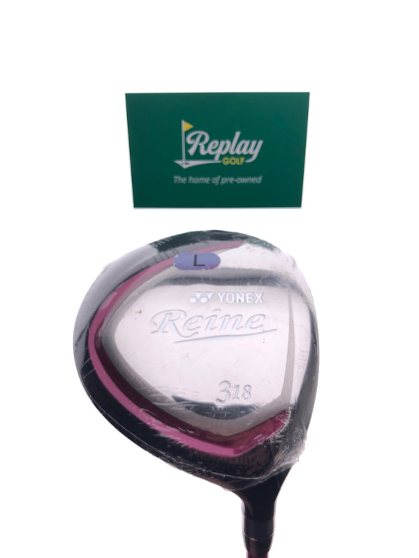 NEW Yonex Reine 3 Fairway Wood / 18 Degrees / Ladies Flex - Replay Golf