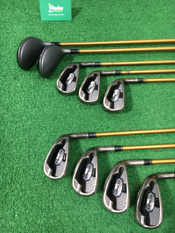 Ben Ross Gold Speed Iron Set / 3 - SW / Graphite Senior Flex