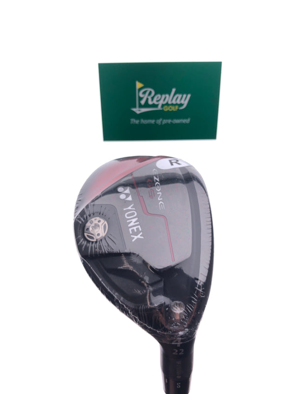 NEW Yonex Ezone GS 4 Hybrid / 22 Degrees / Yonex EX-330 Regular Flex - Replay Golf