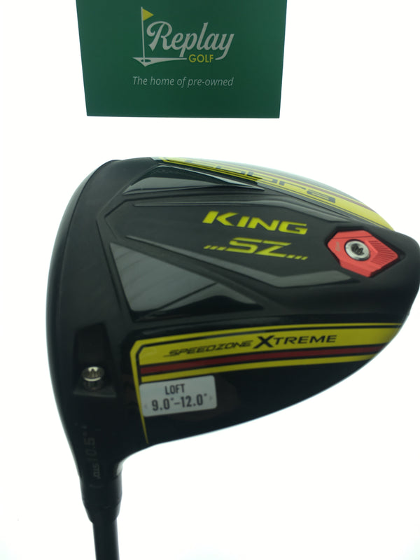 Cobra King Speedzone Xtreme Driver / 10.5 Degree / HZRDUS Smoke 6.5 / LH - Replay Golf