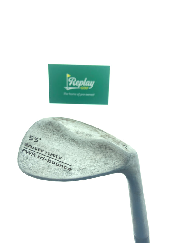 Cobra Trusty Rusty PWR TrI Bounce Sand Wedge / 55 Degree / Project X 6.5 X-Flex - Replay Golf