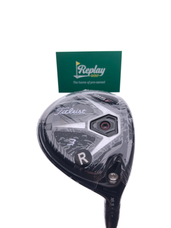 NEW Titleist 915 F 3 Fairway Wood / 16.5 Degrees / Diamana S+70 Regular Flex - Replay Golf