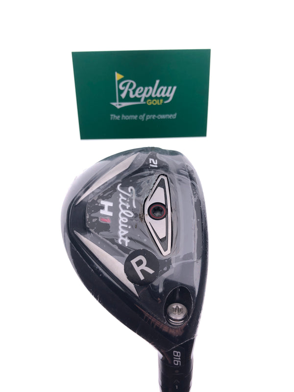 NEW Titleist 816 H1 3 Hybrid / 21 Degrees / Diamana S+70 Regular Flex - Replay Golf