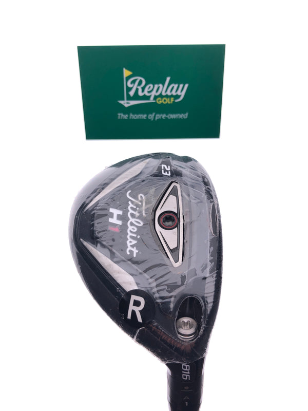 NEW Titleist 816 H1 4 Hybrid / 23 Degrees / Diamana S+70 Regular Flex - Replay Golf