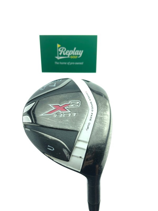 Callaway X2 Hot Womens 5 Fairway Wood / 19 Degrees / Graphite Aldila Ladies Flex