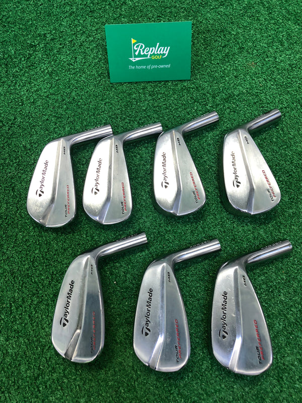 TOUR ISSUE Taylormade Milled Grind Ported Sand Wedge / 54 Degrees / XP S300 - Replay Golf