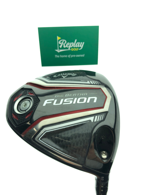 Callaway 2016 Big Bertha Fusion Driver / 9 Degree / Aldila Tour Green ATX 65 Stiff - Replay Golf