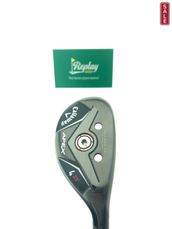 Callaway Apex 2019 #4 Hybrid / 23 Degree / Project Catalyst 5.0 Light Flex / Seniors - Replay Golf