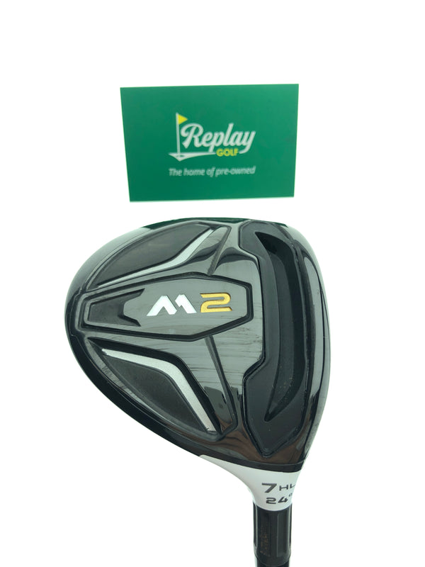 TaylorMade 2016 M2 7  HL Fairway Wood / 24 Degrees / Graphite Ladies Flex - Replay Golf