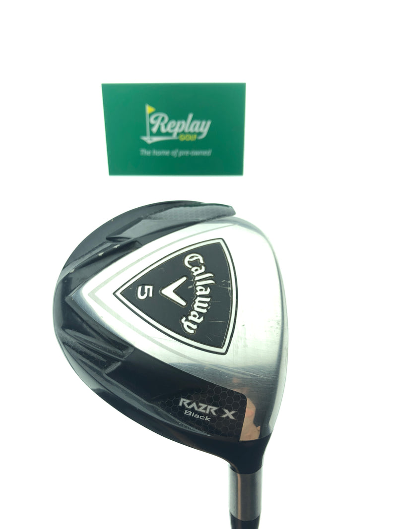 Callaway Razr X Black 5 Wood / 18 Degree / Pro Launch Axis 65 Regular Flex