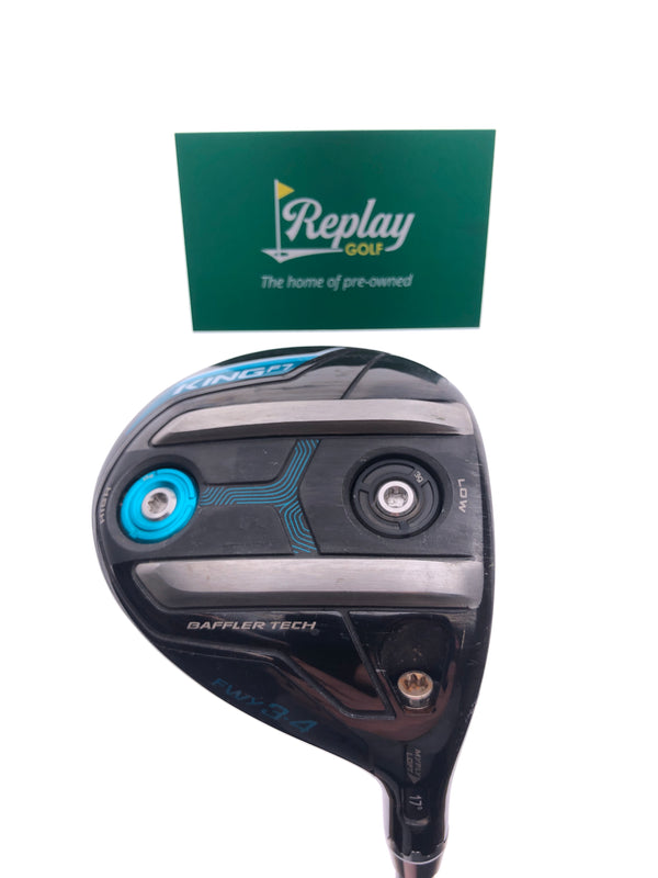 Cobra King F7 Ladies 3 Fairway Wood / 17 Degrees / Ladies Flex - Replay Golf