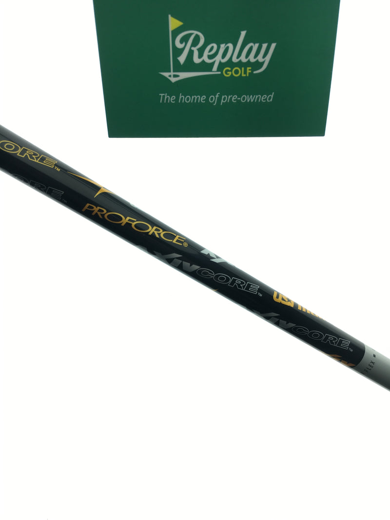 UST Proforce AXIV CORE Driver Shaft / TX Flex / Titleist Adapter - Replay Golf