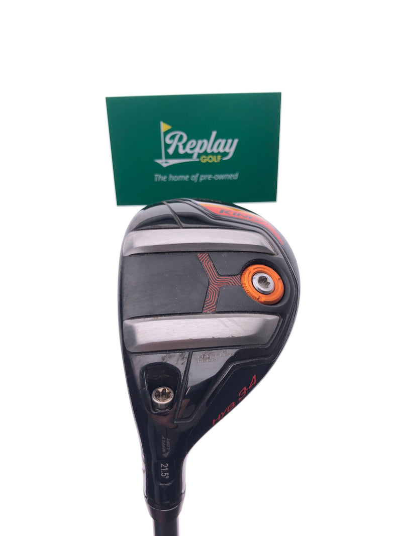 Cobra King F7 3 Hybrid / 21.5 Degrees / Fujikura Pro 75H Regular Flex / LEFT Hand - Replay Golf