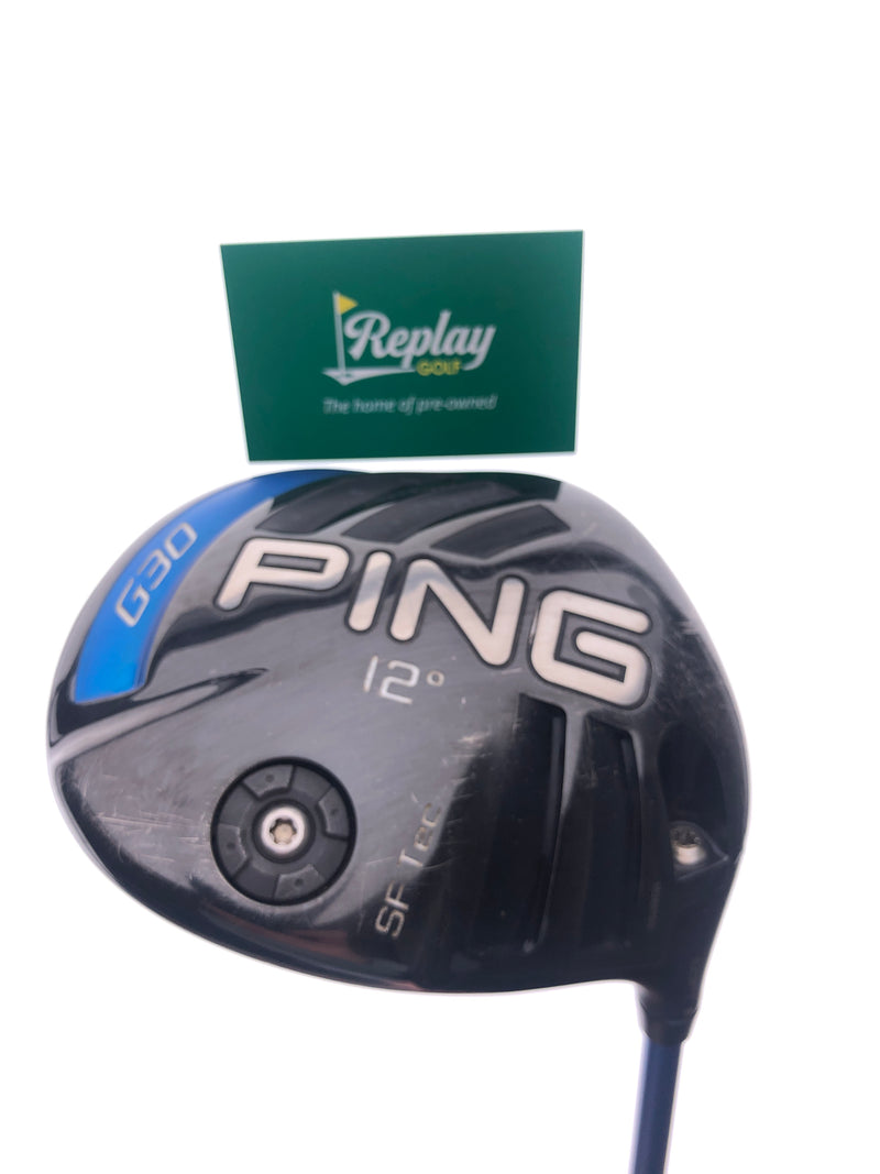 Ping G30 SF Tec Driver / 12.0 Degrees / Ping TFC 419 Regular Flex - Replay Golf