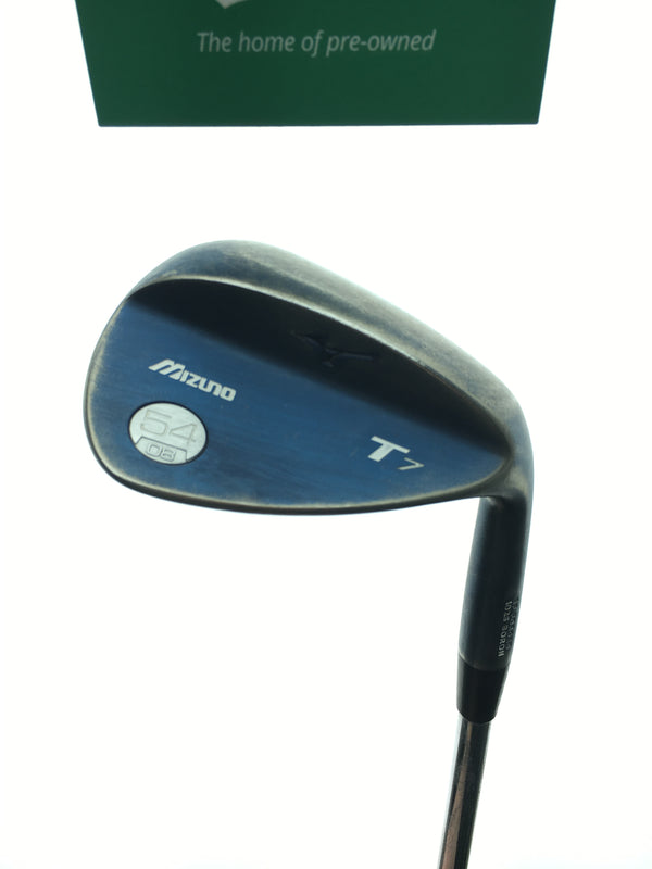 Mizuno T7 Blue Ion Sand Wedge / 54.0 Degrees / Dynamic Gold Tour Issue Stiff Flex - Replay Golf