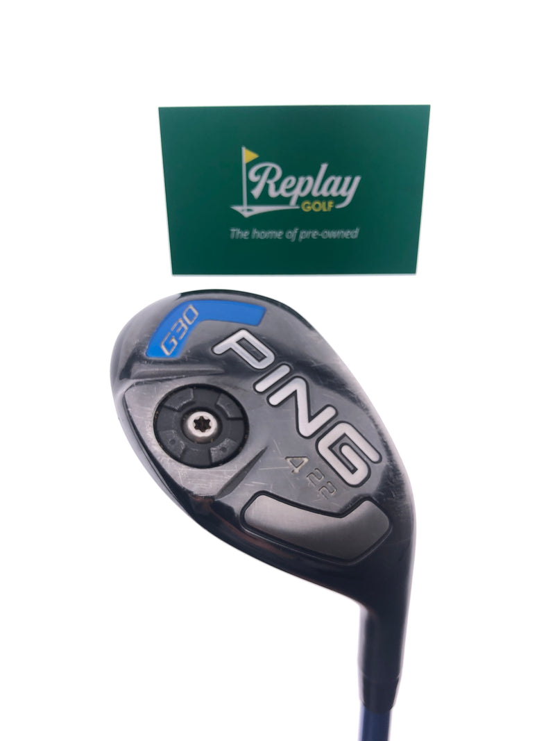 Ping G30 4 Hybrid / 22 Degrees / Ping TFC 419 Regular Flex - Replay Golf