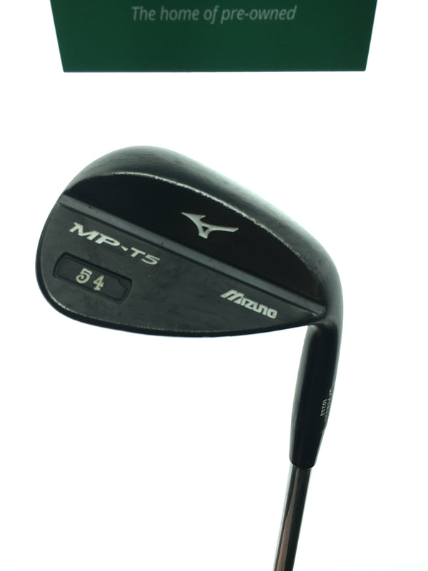 Mizuno MP T5 Black Ion Sand Wedge / 54 Degree / Dynamic Gold Tour Issue Stiff - Replay Golf