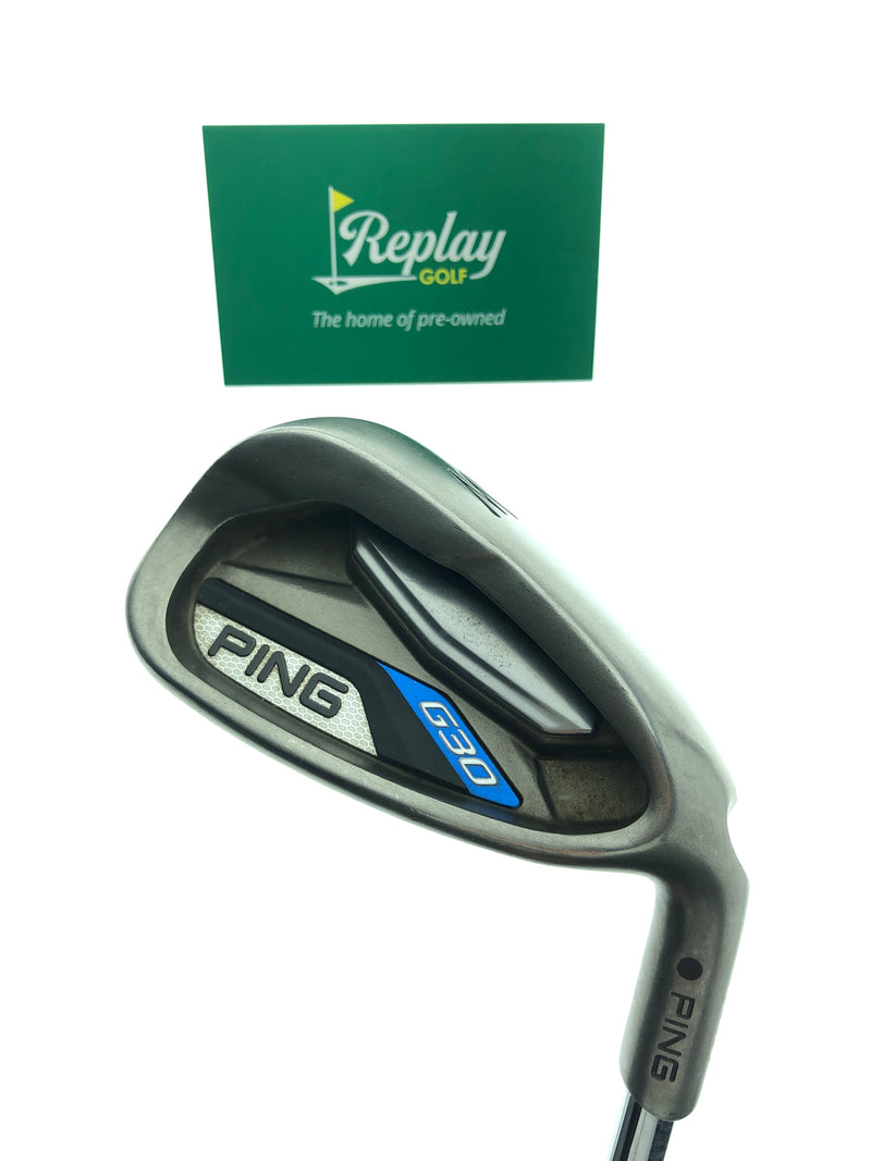 Ping G30 Pitching Wedge / 45 Degrees / Ping CFS Soft Regular Flex - Replay Golf