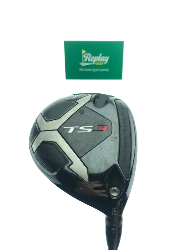 Titleist TS3 3 Fairway Wood / 13.5 Degrees / Tensei AV Series 65 Blue X-Stiff Flex