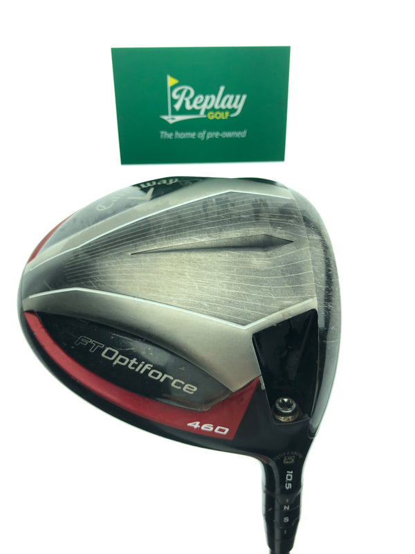 Callaway FT Optiforce 460 Driver / 10.5 Degrees / Project X 5.5 Regular Flex - Replay Golf