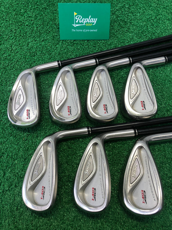 Srixon i-403AD Iron Set / 4-PW / Graphite Srixon SV-3000 Regular Flex