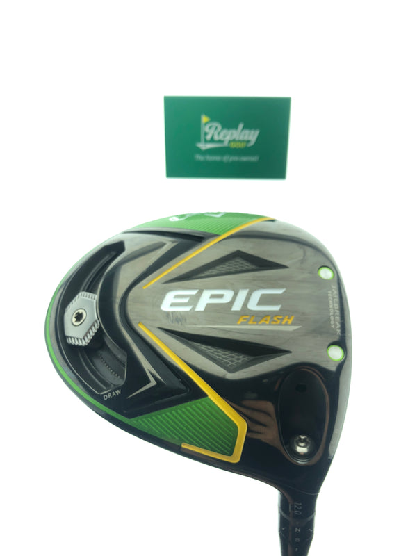 Callaway EPIC Flash Driver / 12 Degree / Project X Even Flow Green 4.0 Ladies Flex