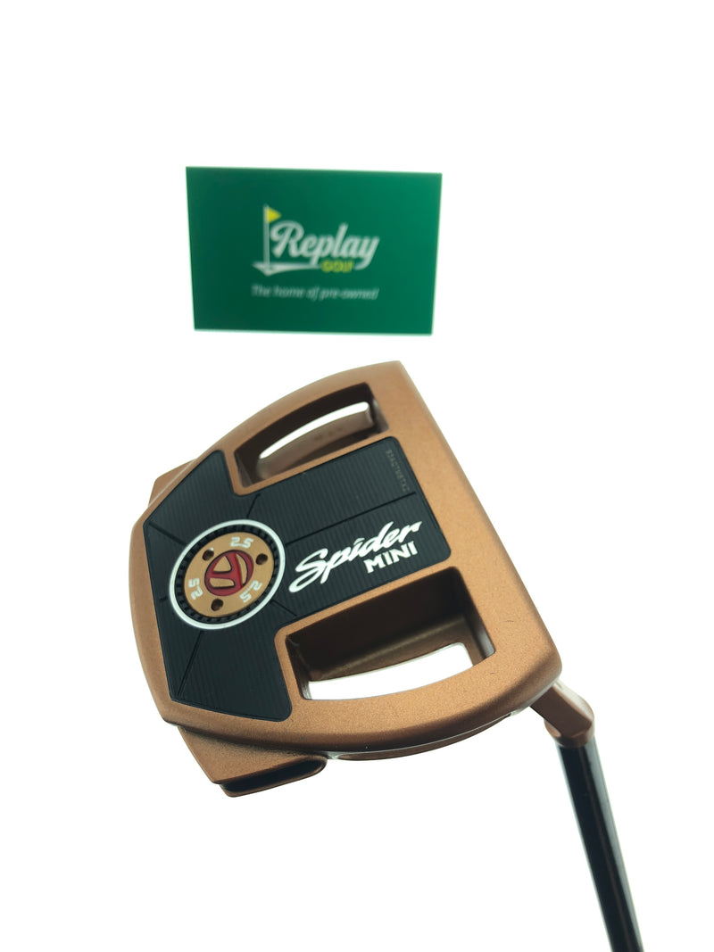 TaylorMade Spider Mini Copper Putter / 35 Inch