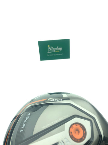 Honma TW747 460 Driver / 9.5 Degrees / Vizard Red FD-6S Stiff Flex - Replay Golf