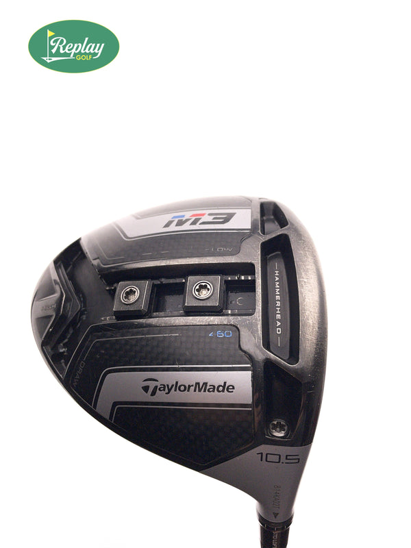 TOUR ISSUE TaylorMade M3 Driver / 10.5 Degree / Speeder 665 Evolution II TS Stiff - Replay Golf