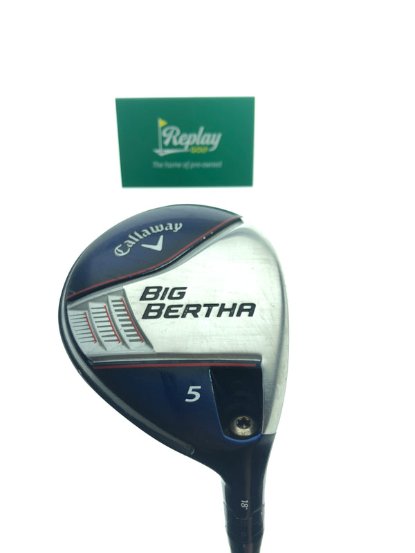 Callaway 2014 Big Bertha 5 Fairway Wood / 18 Degree / Fubuki Z65 Regular Flex