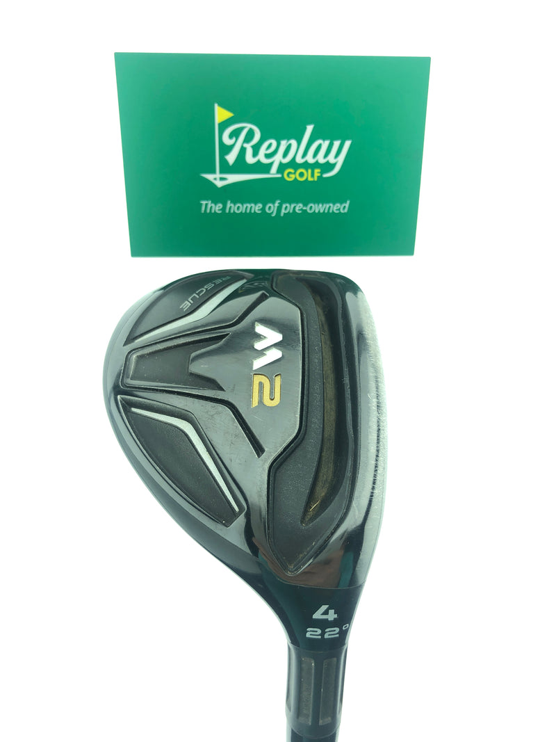 TaylorMade 2016 M2 4 Hybrid / 22 Degrees / Reax 65 Regular Flex - Replay Golf