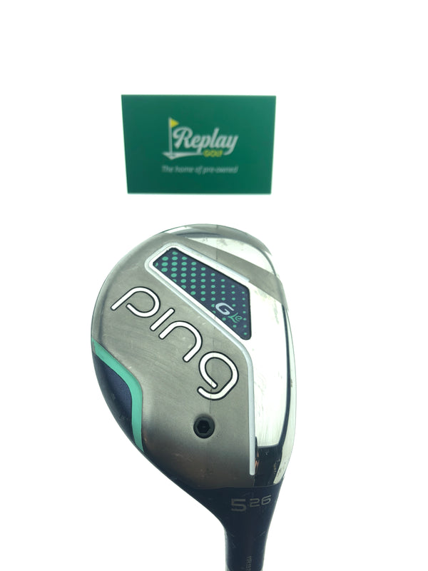 Ping G LE 5 Hybrid / 26 Degrees / Ping ULT 230 Ladies Flex