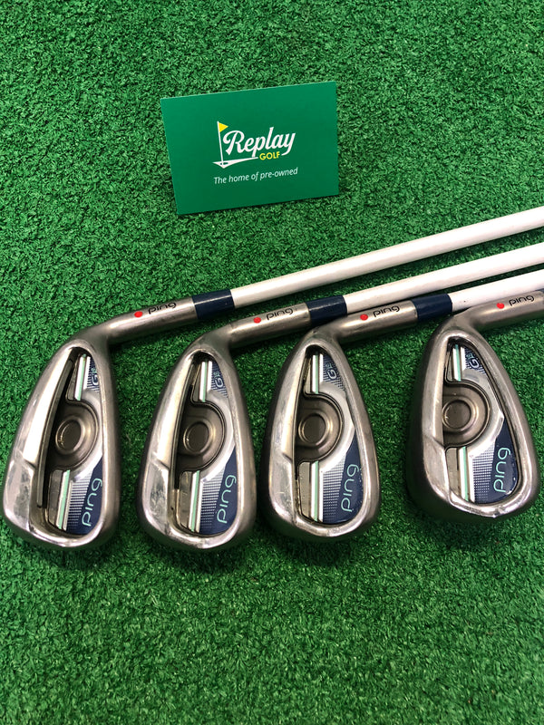 Ping G LE Iron Set / 7-PW /Ping ULT 230  Ladies Flex