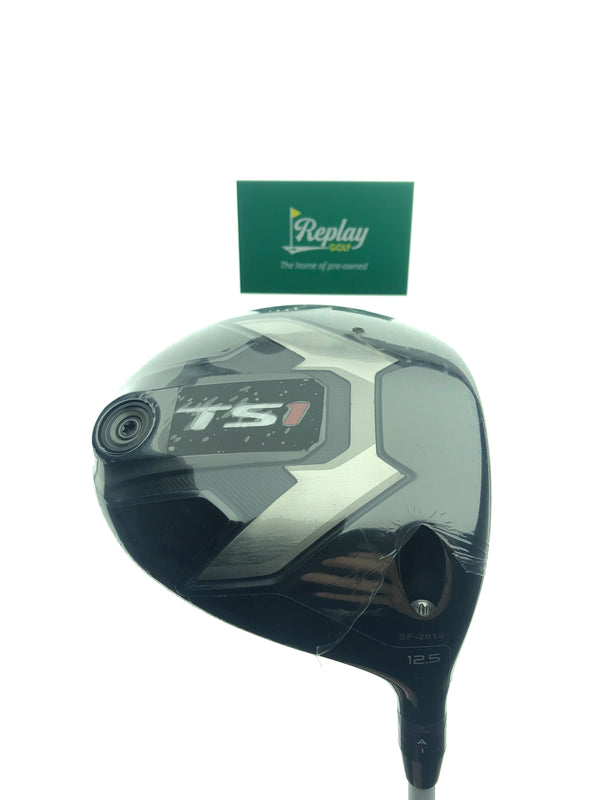 NEW Titleist TS1 Driver / 12.5 Degrees / Fujikura Air Speeder 40 R Regular Flex - Replay Golf