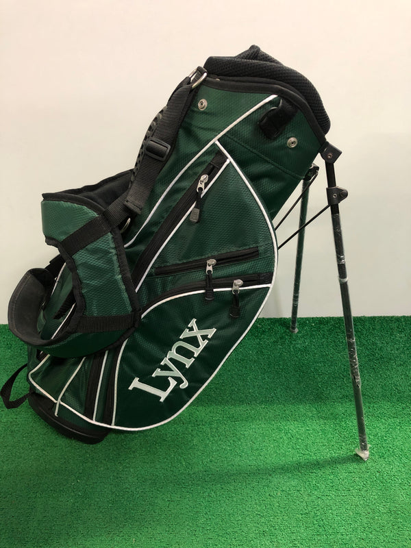 Lynx Green Junior Golf Bag / Age 5-7 - Replay Golf