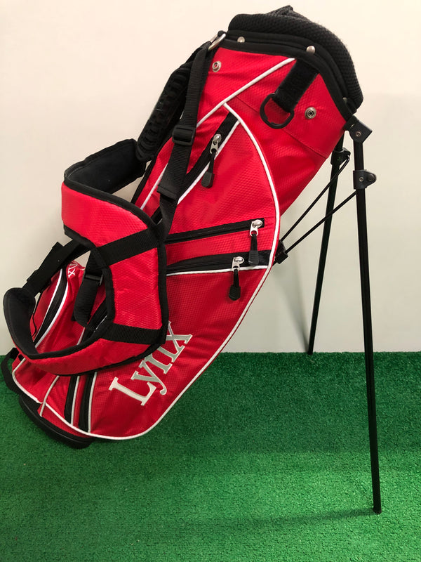 Lynx Red Junior Golf Bag / Age 7-11 - Replay Golf