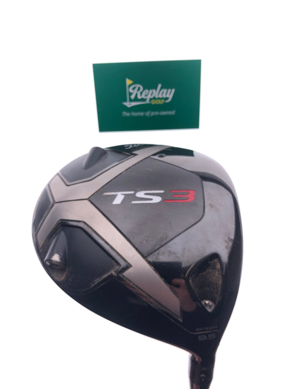 Titleist TS3 Driver / 9.5 Degree / Project X HZRDUS Smoke 6.0 Stiff Flex - Replay Golf