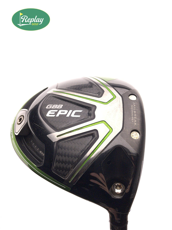 Callaway GBB Epic Driver / 9.0 Degrees / Aldila Rogue 130 MSI 60 S - Replay Golf