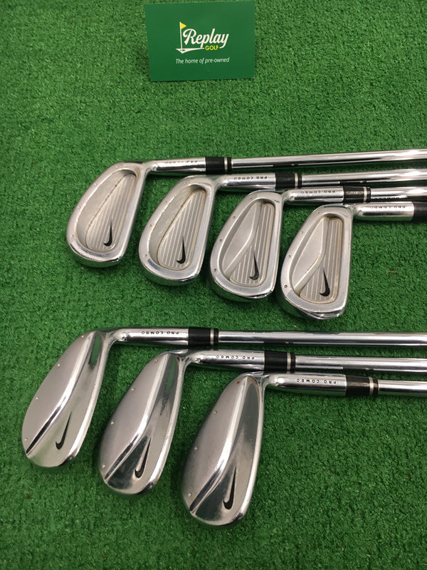 Nike Pro Combo Forged Iron Set / 3 - PW / Speedstep Stiff Flex / *Please See Notes*