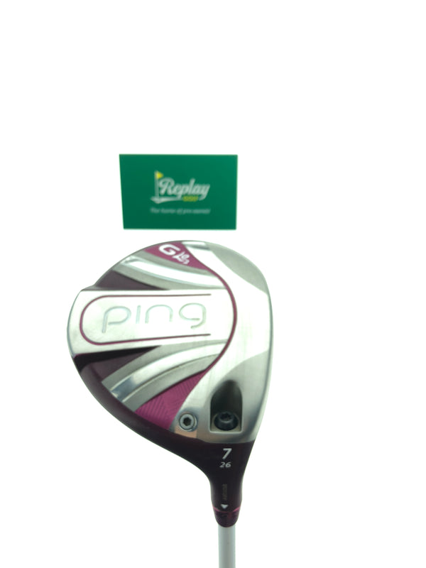 Ping GLE 2 7 Fairway Wood / 26 Degrees / ULT 240 Lite Ladies Flex - Replay Golf