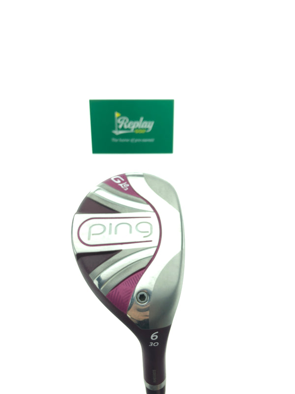 Ping GLE 2 6 Hybrid / 30 Degrees / ULT 240 Lite Ladies Flex